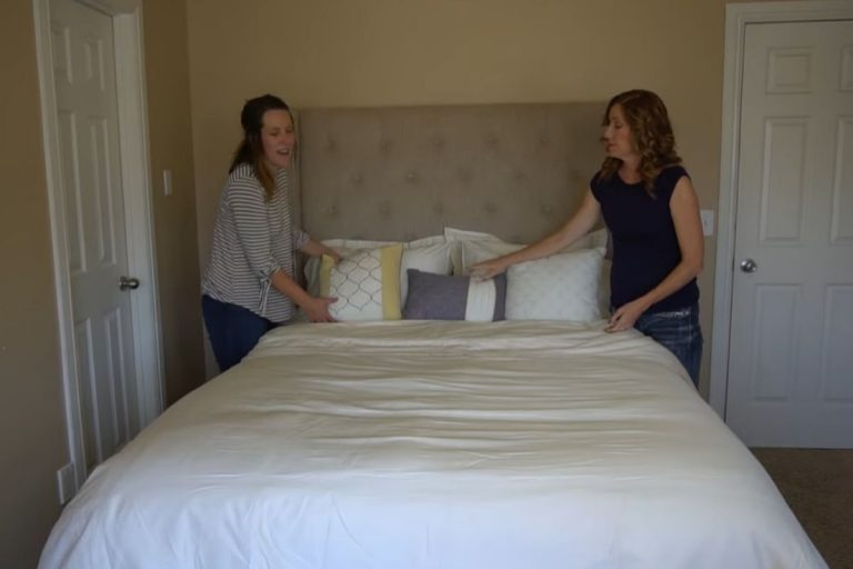 How to Make your Bed | How to Put Sheets on a Bed